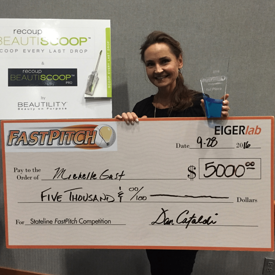Recipient of FastPitch Innovation Competition - September 2016